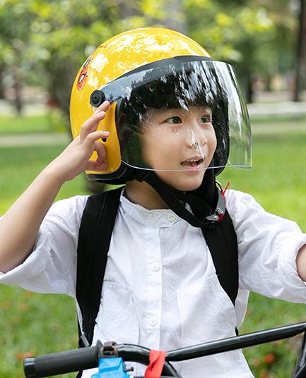 Những mũ bảo hiểm phòng dịch tốt nhất cho trẻ em